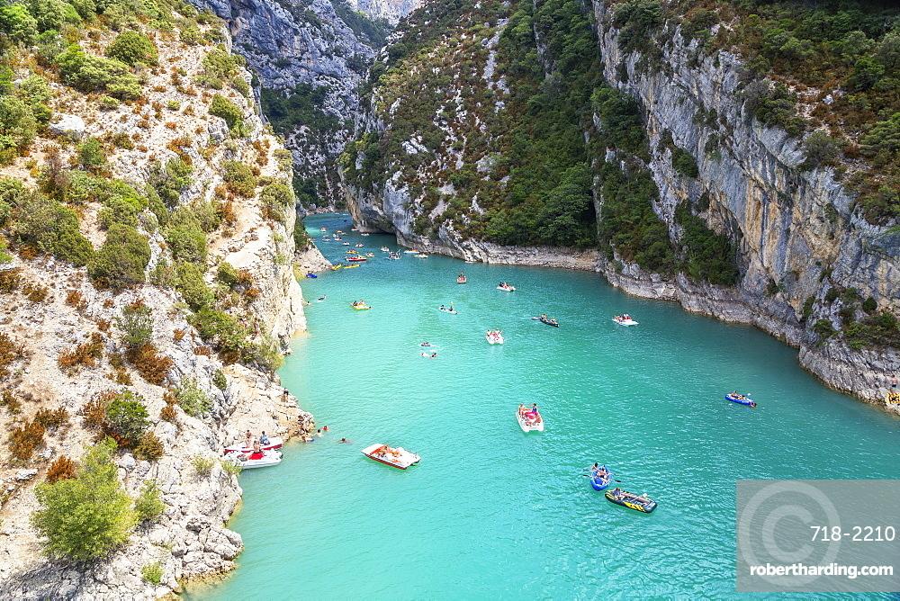 Lake St. Croix, Gorges du Verdon, Provence-Alpes-Cote d'Azur, Provence, France, Europe