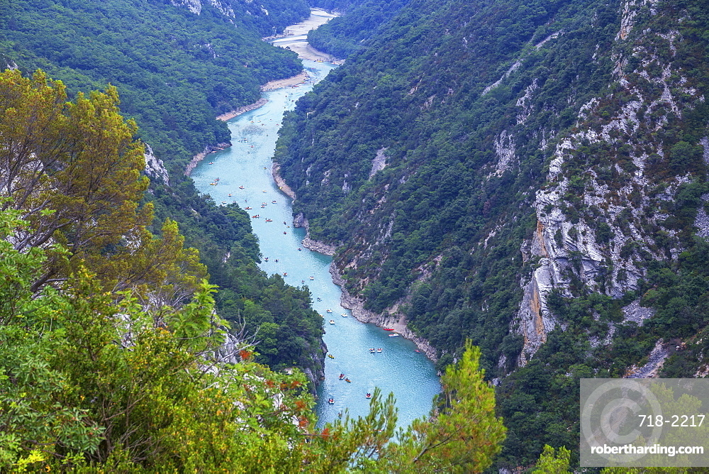 Gorges du Verdon, Provence-Alpes-Cote d'Azur, Provence, France, Europe
