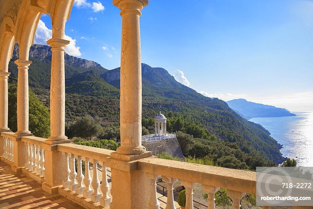 Son Marroig Mansion, Deia, Mallorca (Majorca), Balearic Islands, Spain, Europe