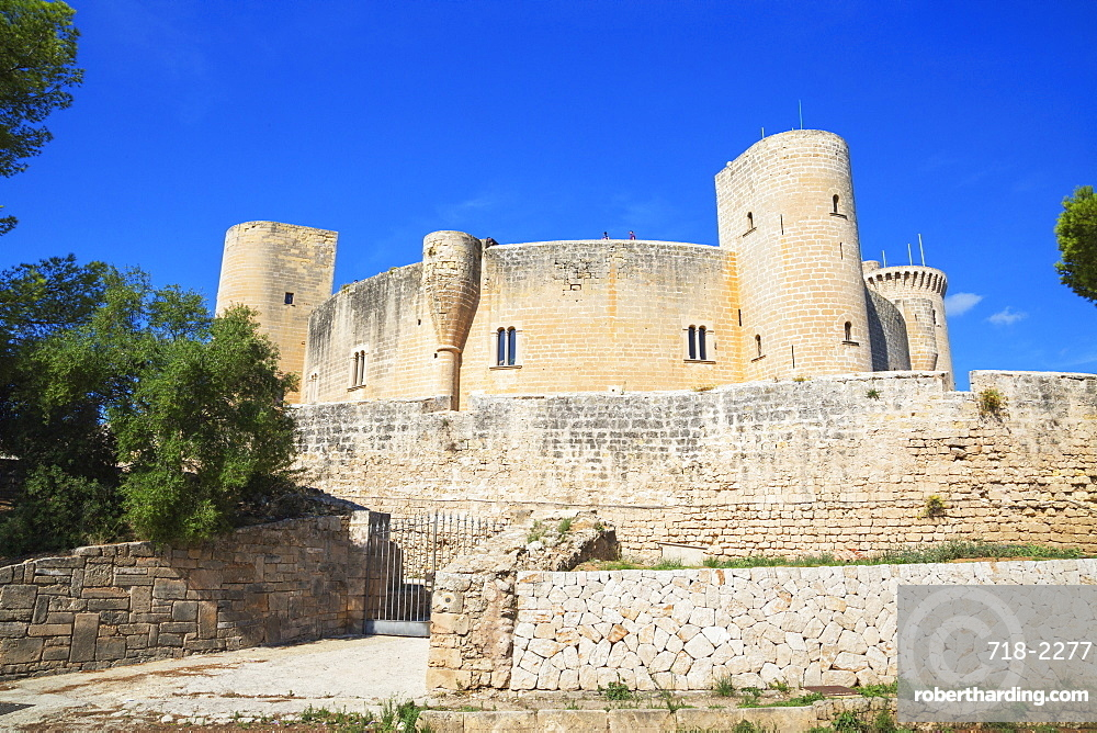 Bellver Castle, Palma de Mallorca, Mallorca (Majorca), Balearic Islands, Spain, Europe