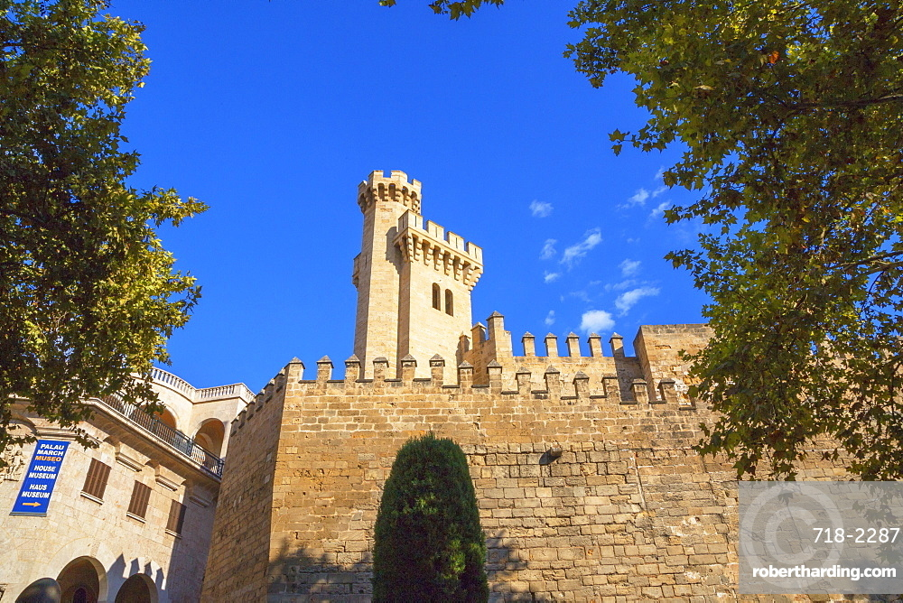 Almudaina Palace Walls, Palma de Mallorca, Mallorca (Majorca), Balearic Islands, Spain, Europe