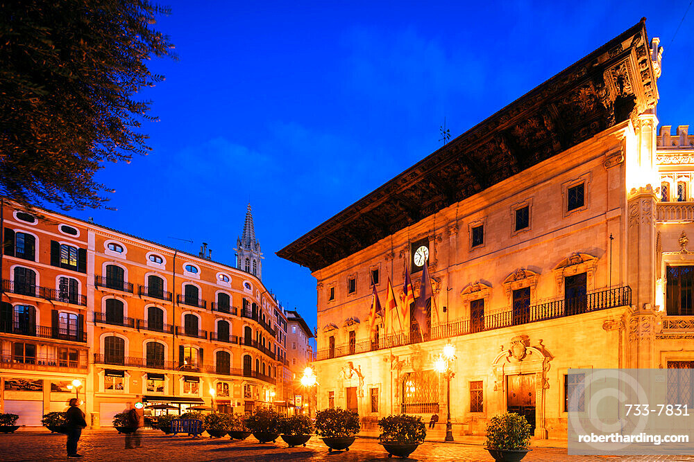 Cappuccino Hotel, Palma de Mallorca, Majorca, Balearic Islands, Spain, Mediterranean, Europe