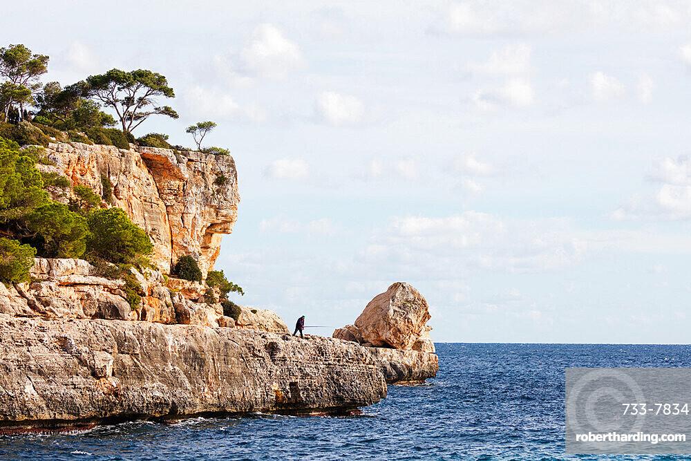 Cala Santanyi, Majorca, Balearic Islands, Spain, Mediterranean, Europe