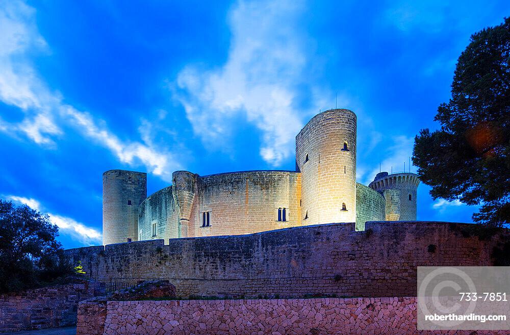 Palma Castle, Palma de Mallorca, Majorca, Balearic Islands, Spain, Mediterranean, Europe