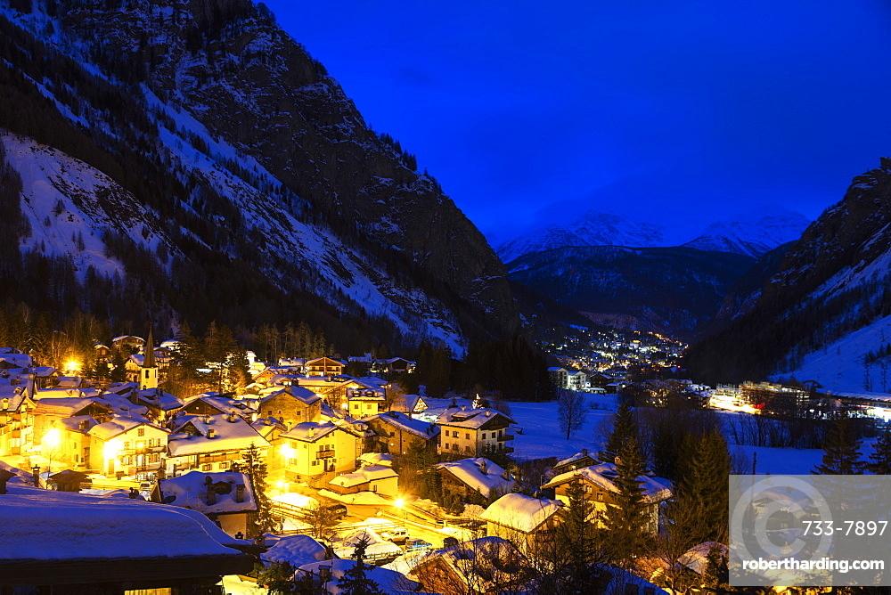 Europe, Italy, Aosta Valley, Courmayeur