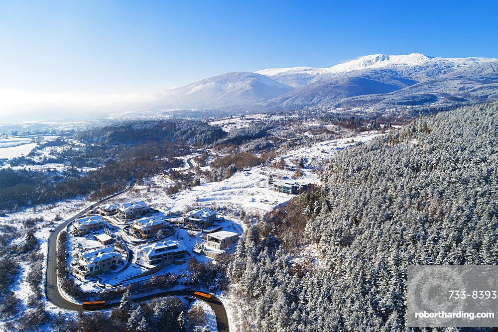Vitosha Mountains on the edge of Sofia, Bulgaria, Europe