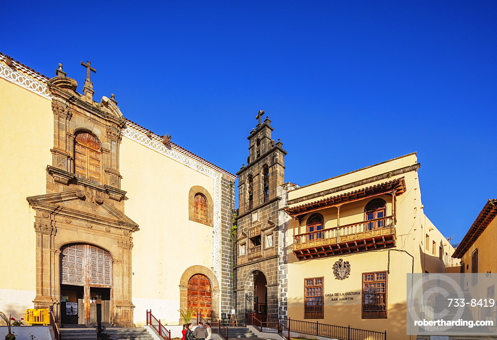 Europe, Spain, Canary Islands, Tenerife, La Orotava, Catholic church of San Augustin