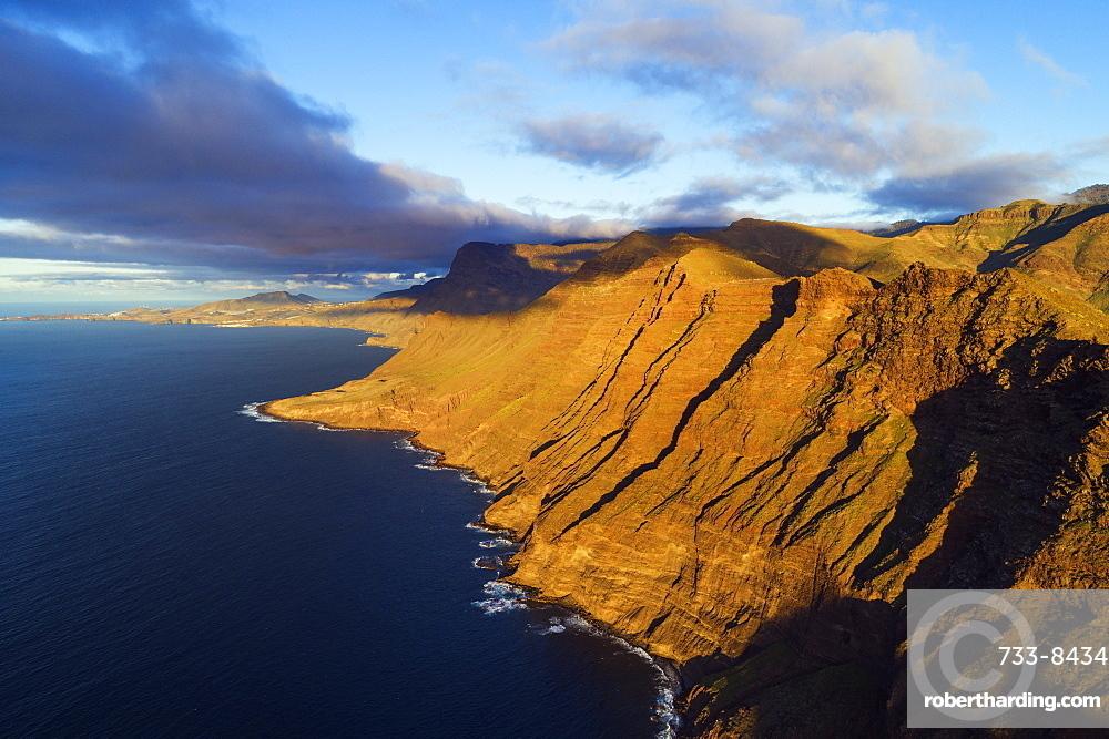 Europe, Spain, Canary Islands, Gran Canaria, west coast scenery
