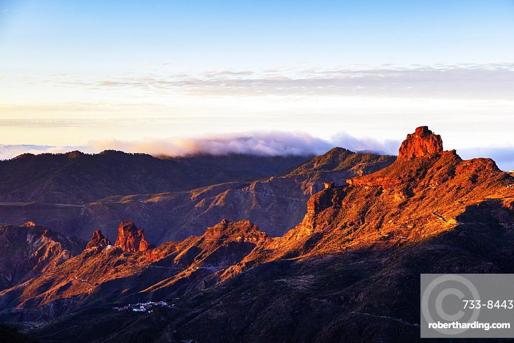 Roque Bentayga, Gran Canaria, Canary Islands, Spain, Atlantic, Europe