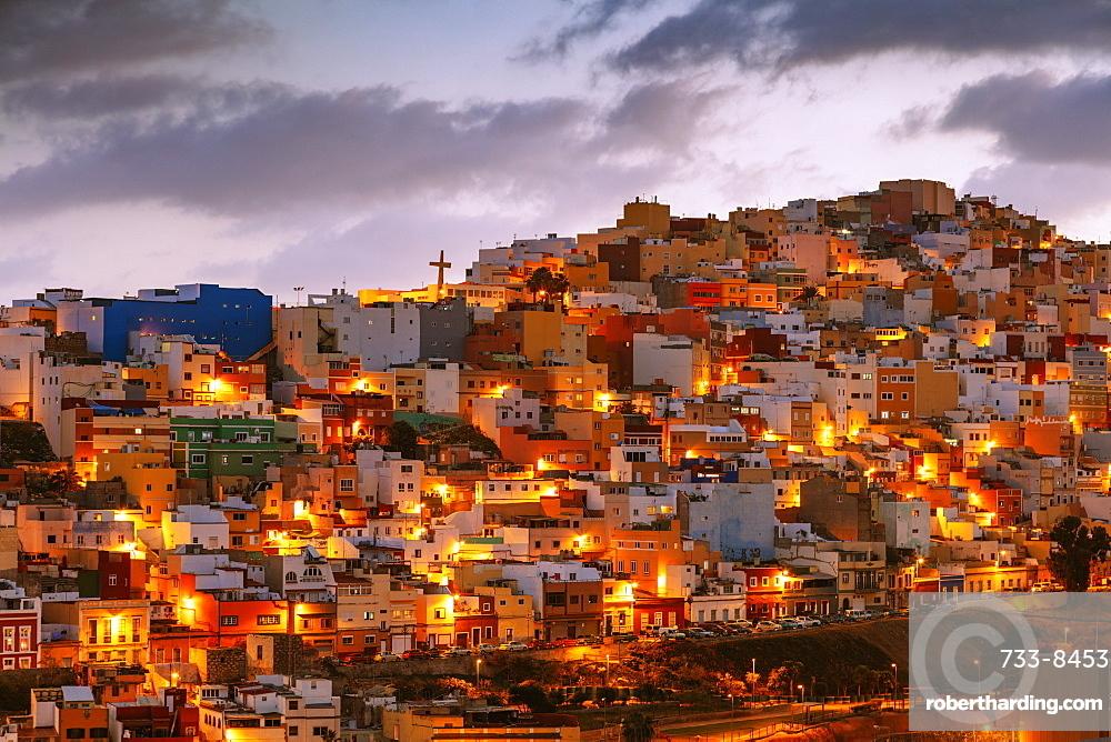 Europe, Spain, Canary Islands, Gran Canaria, Santa Cruz de Gran Canaria