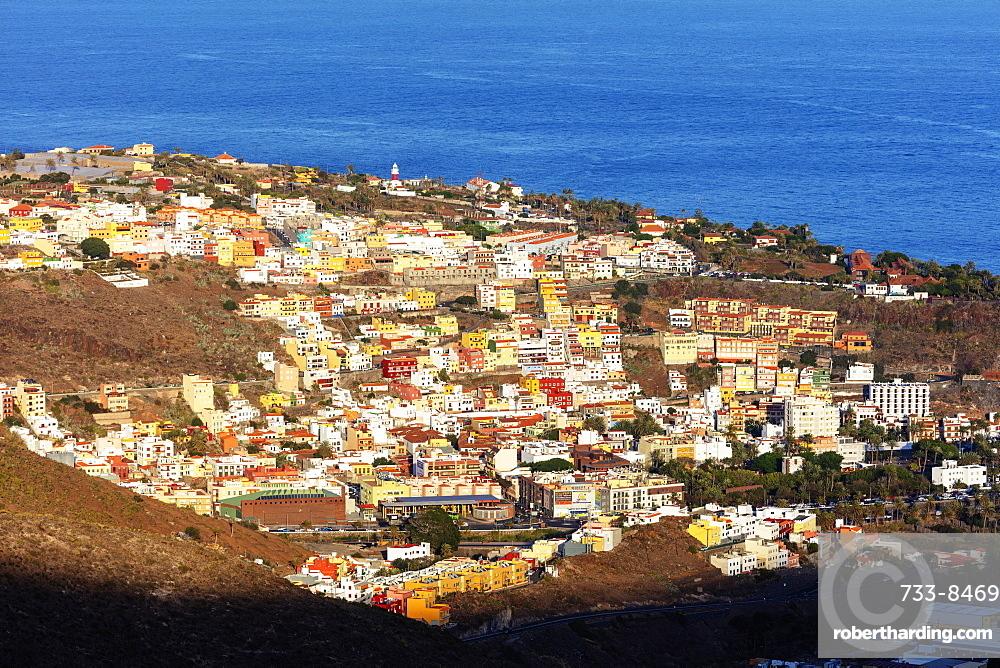 Europe, Spain, Canary Islands, La Gomera, Unesco Biosphere site, San Sebastian de la Gomera town
