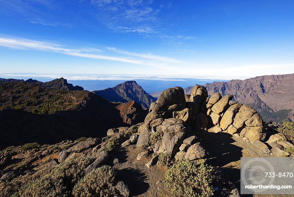 Caldera de Taburiente National Park, UNESCO Biosphere Site, La Palma, Canary Islands, Spain, Atlantic, Europe