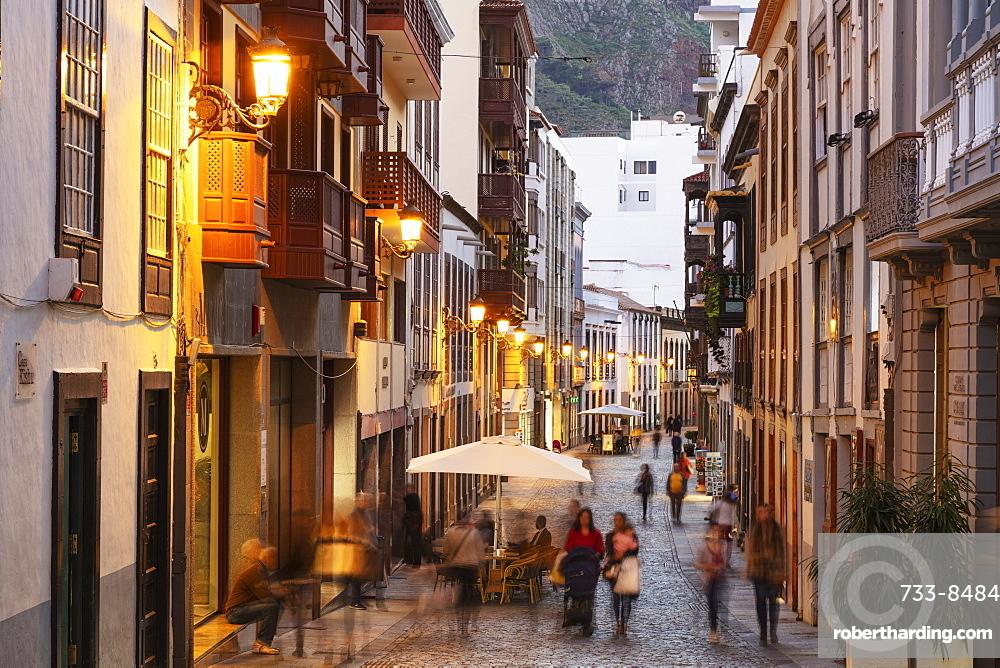 Europe, Spain, Canary Islands, La Palma, Unesco Biosphere site, Santa Cruz de la Palma old town