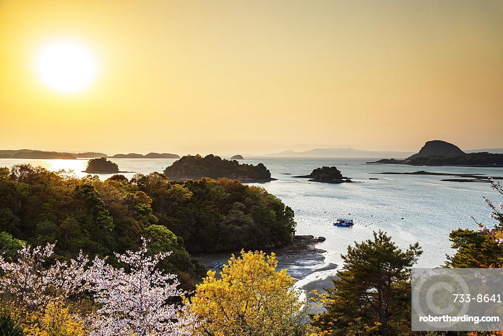 Amakusa Islands at sunset, Kumamoto Prefecture, Kyushu, Japan, Asia