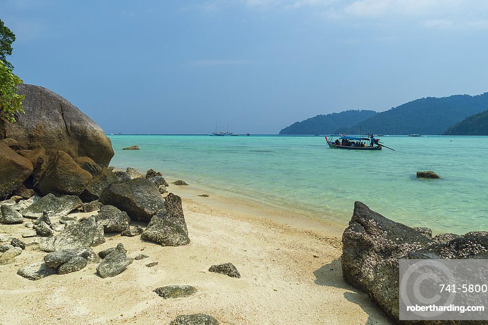 Ko Surin Island, Mu Koh Surin Marine National Park, Thailand.