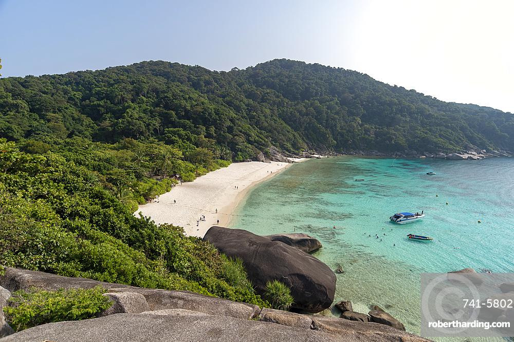 Ko Miang, Similan Islands, Thailand, Southeast Asia, Asia