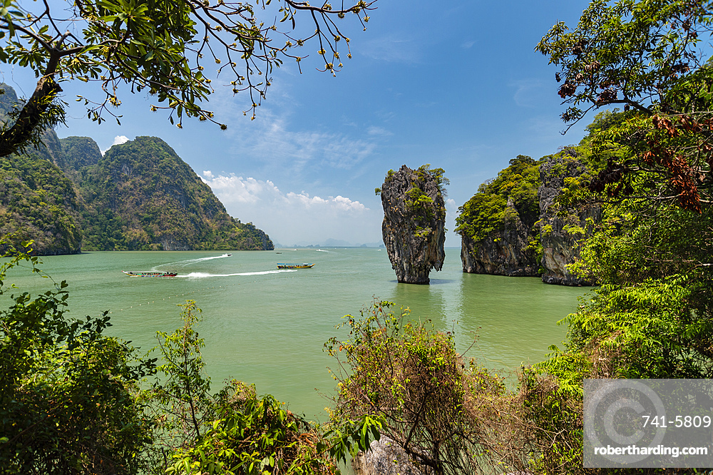 James Bond Island, featured in the movie ???The Man with the Golden Gun???.