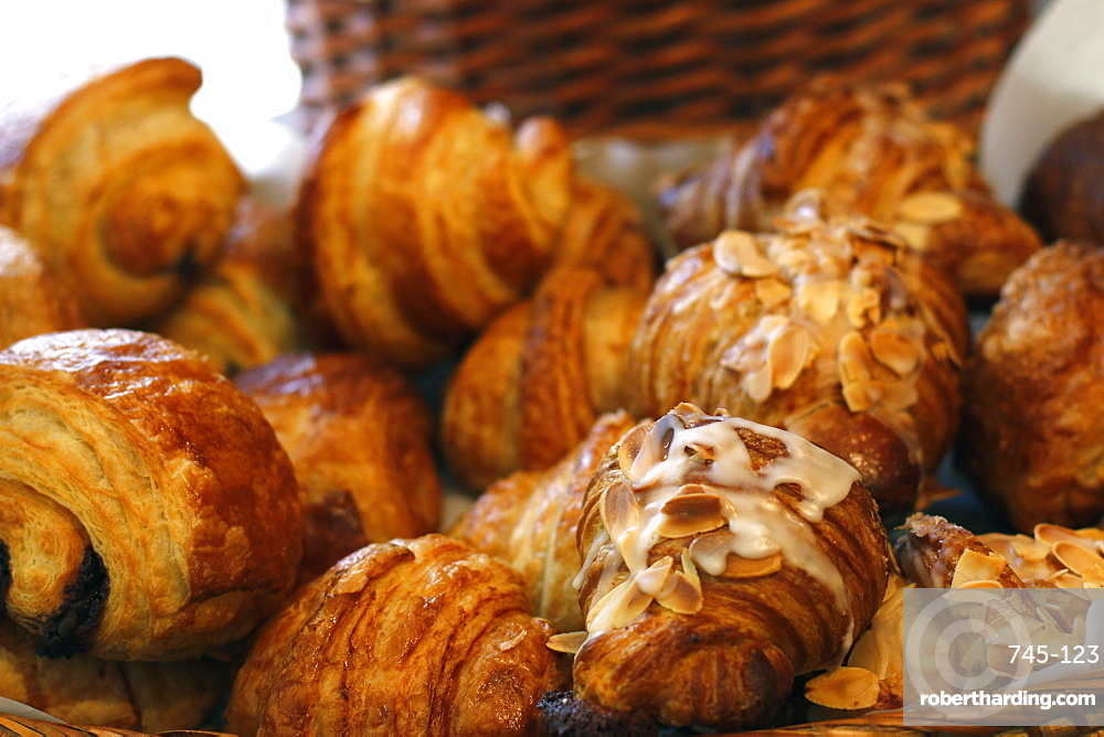 Croissants, France, Europe