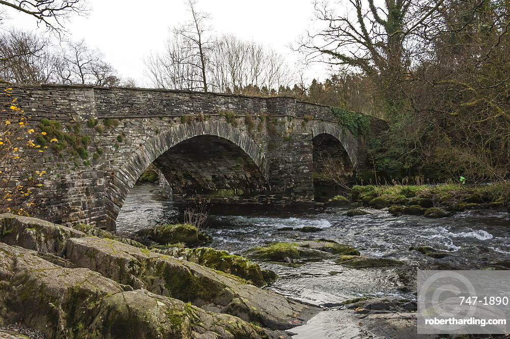 Skelwith Bridge, English Lake District National Park, UNESCO World Heritage Site, Cumbria, England, United Kingdom, Europe