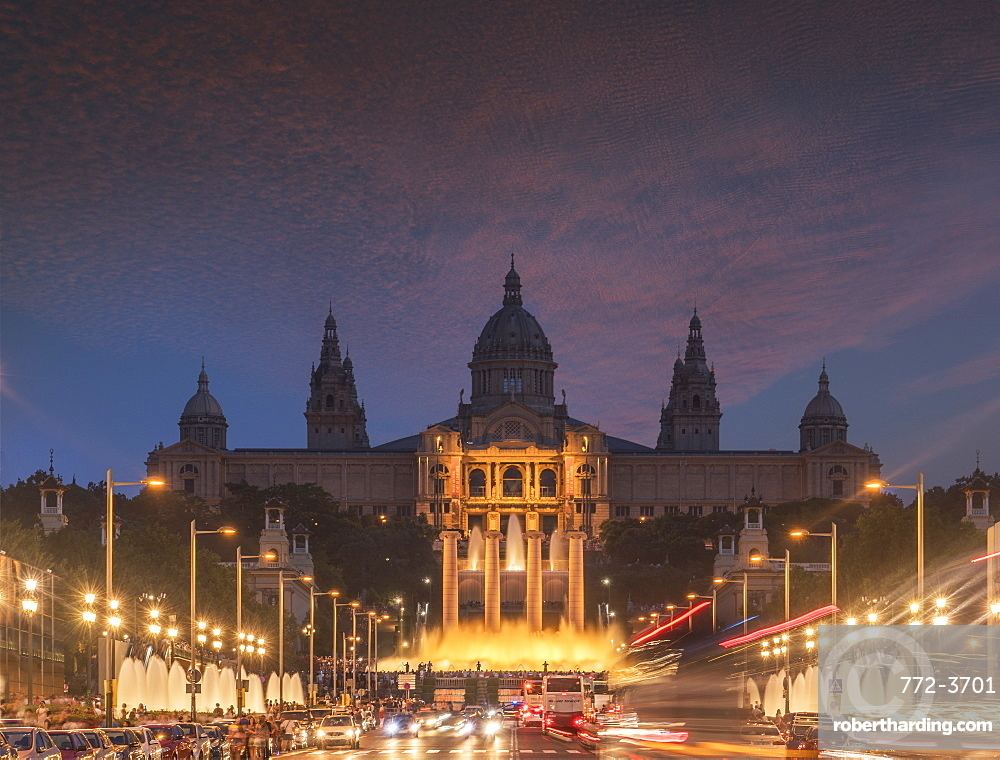 Montjuic, Barcelona, Catalonia, Spain, Europe