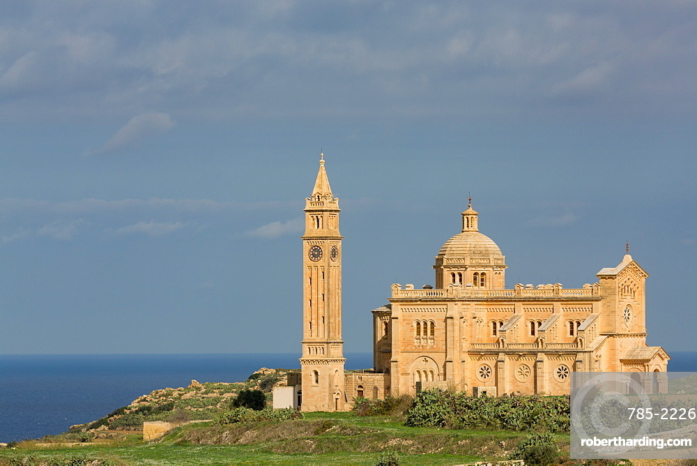Ta' Pinu church on the island of Gozo
