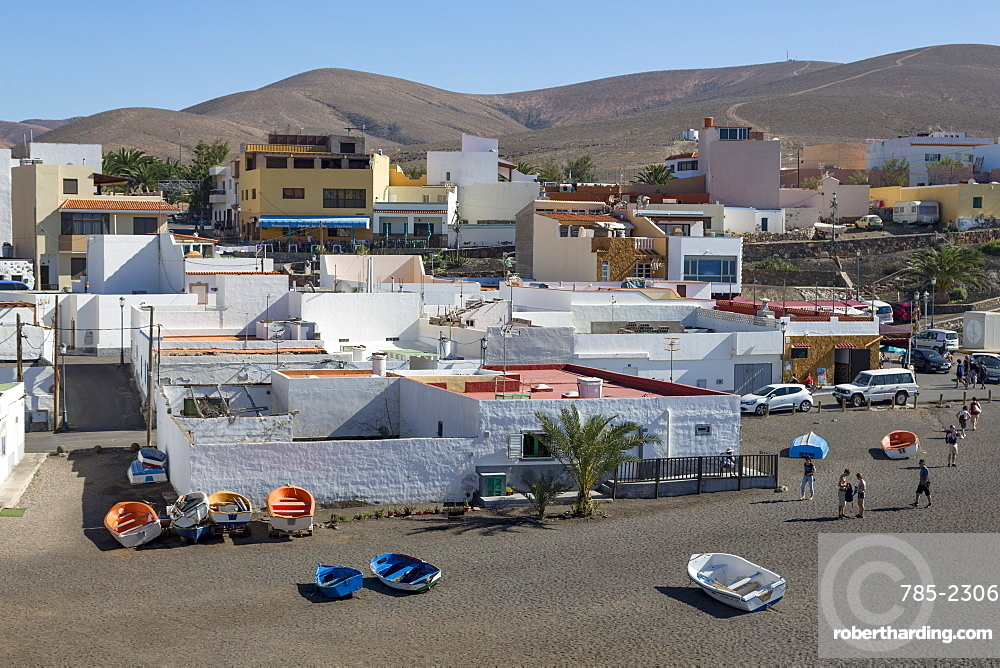 Playa Ajuy on the volcanic Canaries island of Fuerteventura