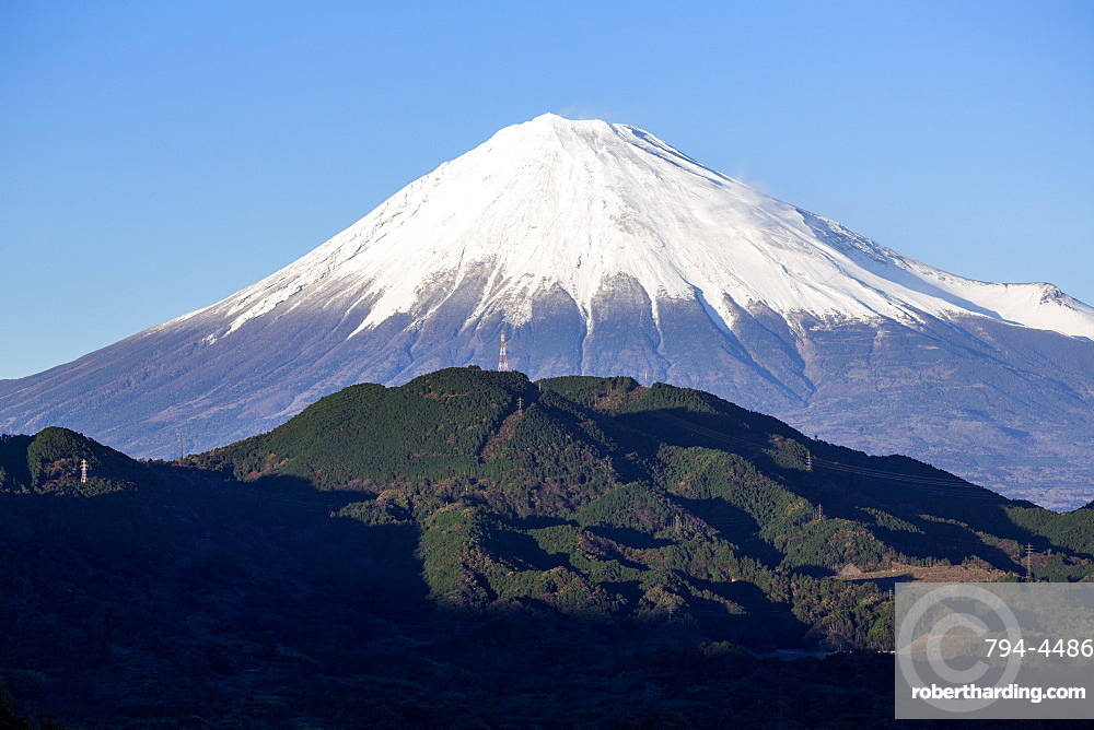 Mount Fuji, UNESCO World Heritage Site, Fuji-Hakone-Izu National Park, Shizuoka, Honshu, Japan, Asia