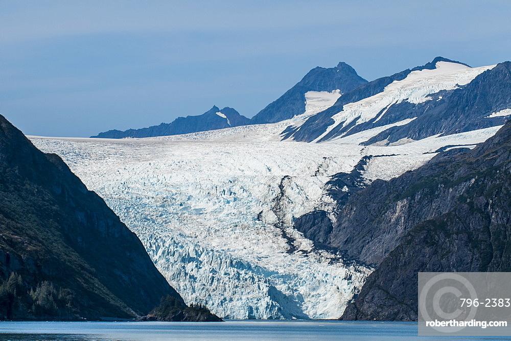 Holgate Glacier, Harding Icefield, Kenai Fjords National Park, Alaska, United States of America, North America