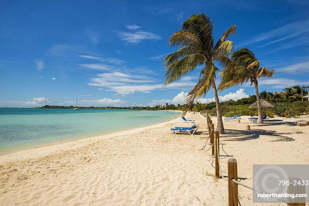 Sapodilla Bay Beach, Providenciales, Turks and Caicos Islands, West Indies, Central America