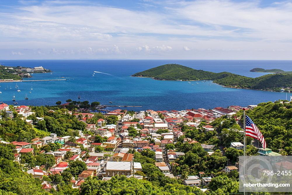 Charlotte Amalie on Saint Thomas, US Virgin Islands