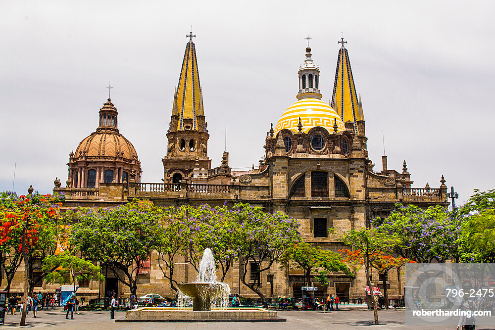 Guadalajara Cathedral, Historic Center, Guadalajara, Jalisco, Mexico.