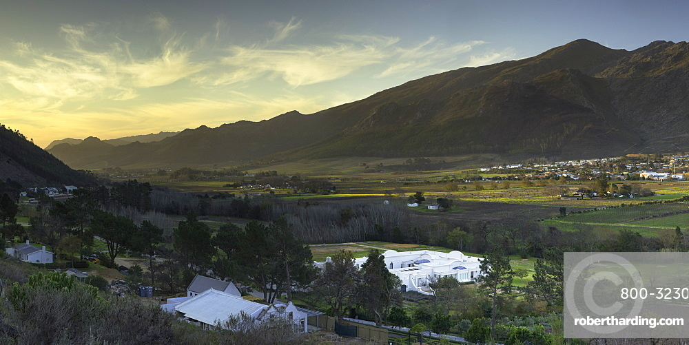 Franschhoek, Western Cape, South Africa, Africa