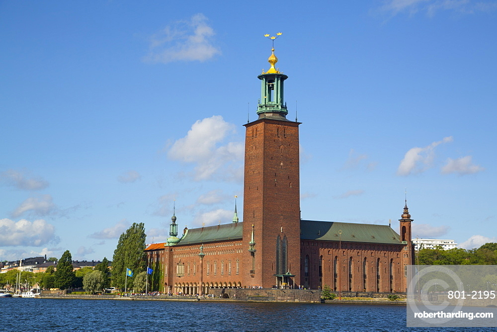 Stockholm City Hall, Stockholm, Sweden, Scandinavia, Europe