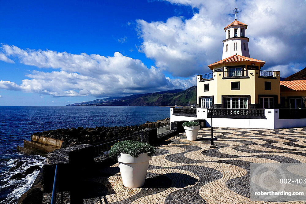 The lookout tower at Quinta do Lorde, Canical, east Madeira, Portugal, Atlantic Ocean, Europe
