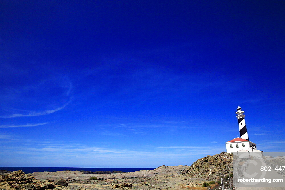 Lighthouse, northeast Menorca