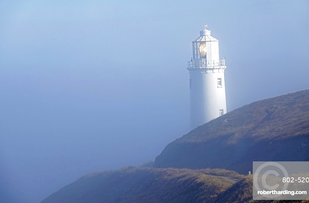 Lighthouse at Trevose Head, North Cornwall, England, United Kingdom, Europe