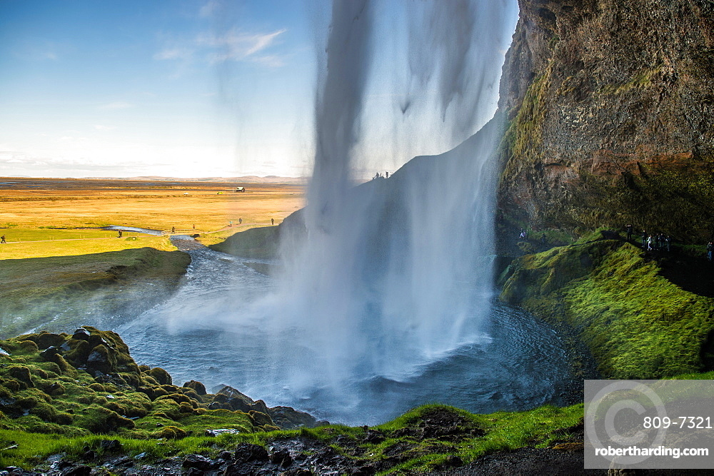 Seljalandsfoss waterfall, Iceland, Polar Regions