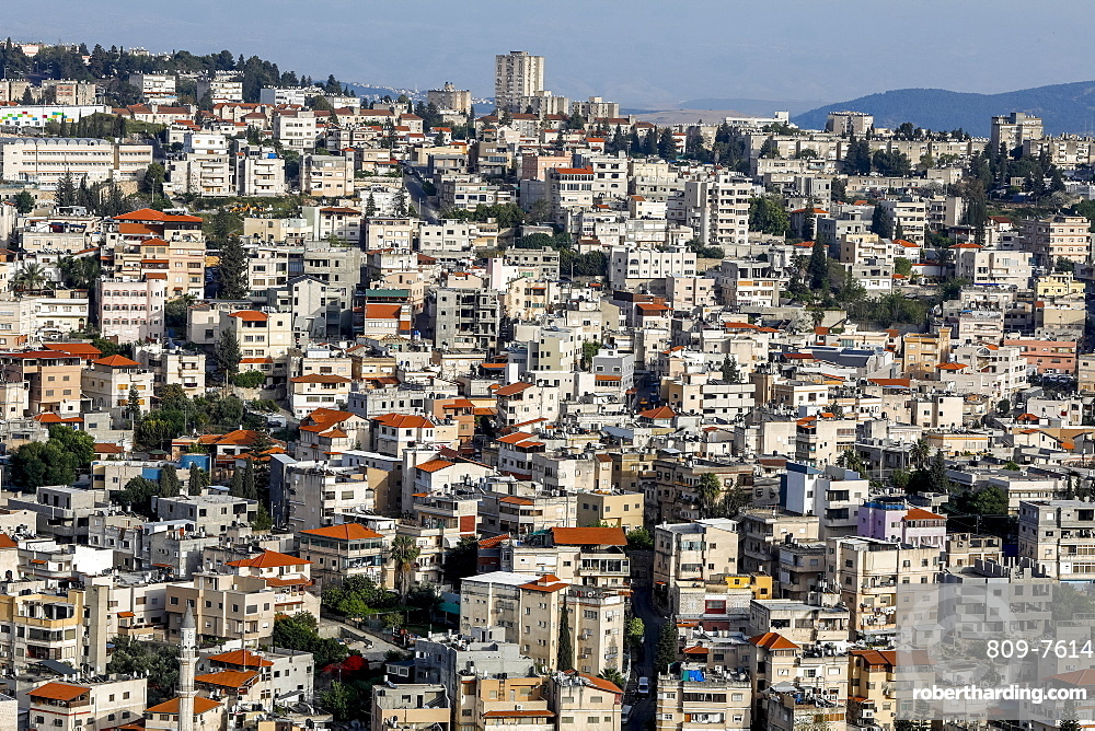 Nazareth city, Galilee, Israel, Middle East