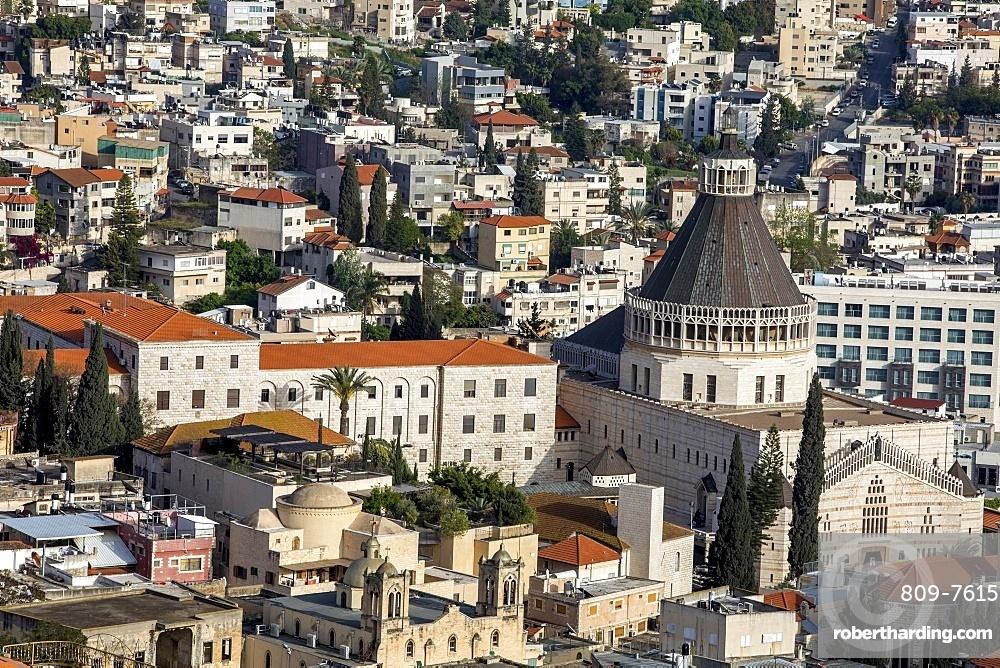 Nazareth city, Galilee, Israel, Middle East