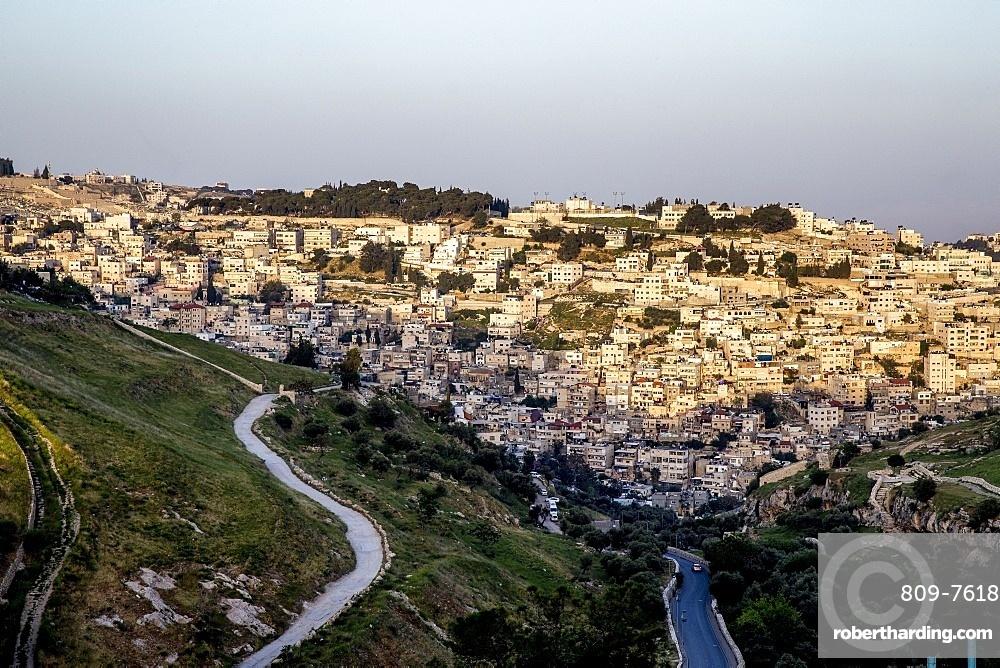 Silwan, Jerusalem, Israel, Middle East