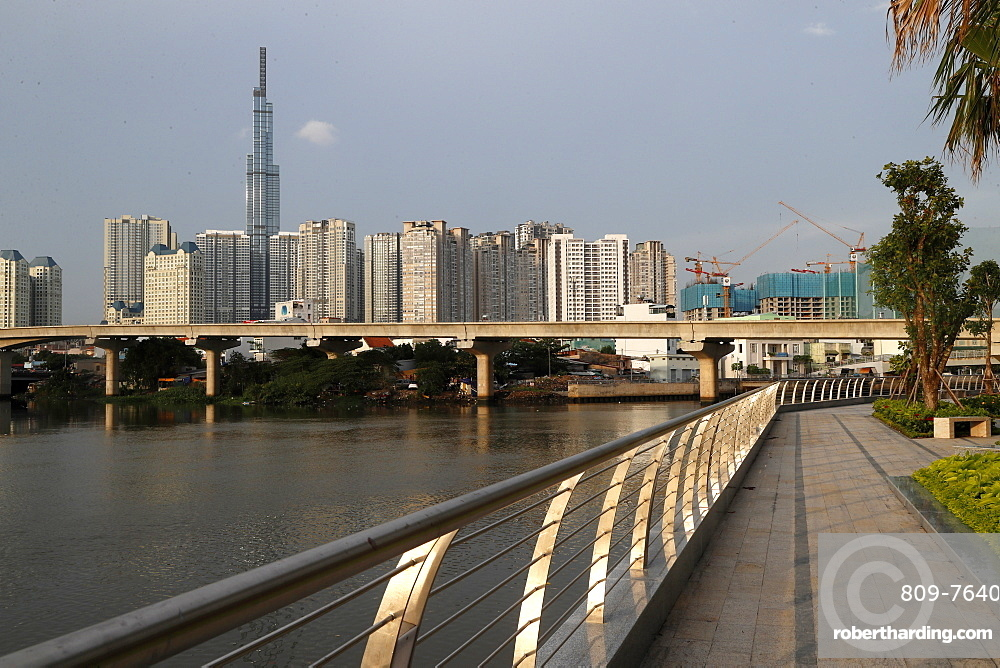 New apartment buildings, Ho Chi Minh City, Vietnam, Indochina, Southeast Asia, Asia