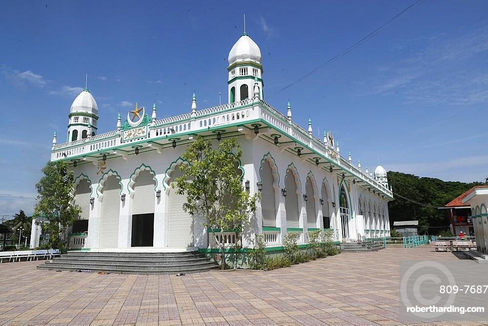 Jamiul Azhar Mosque, Chau Doc, Vietnam, Indochina, Southeast Asia, Asia