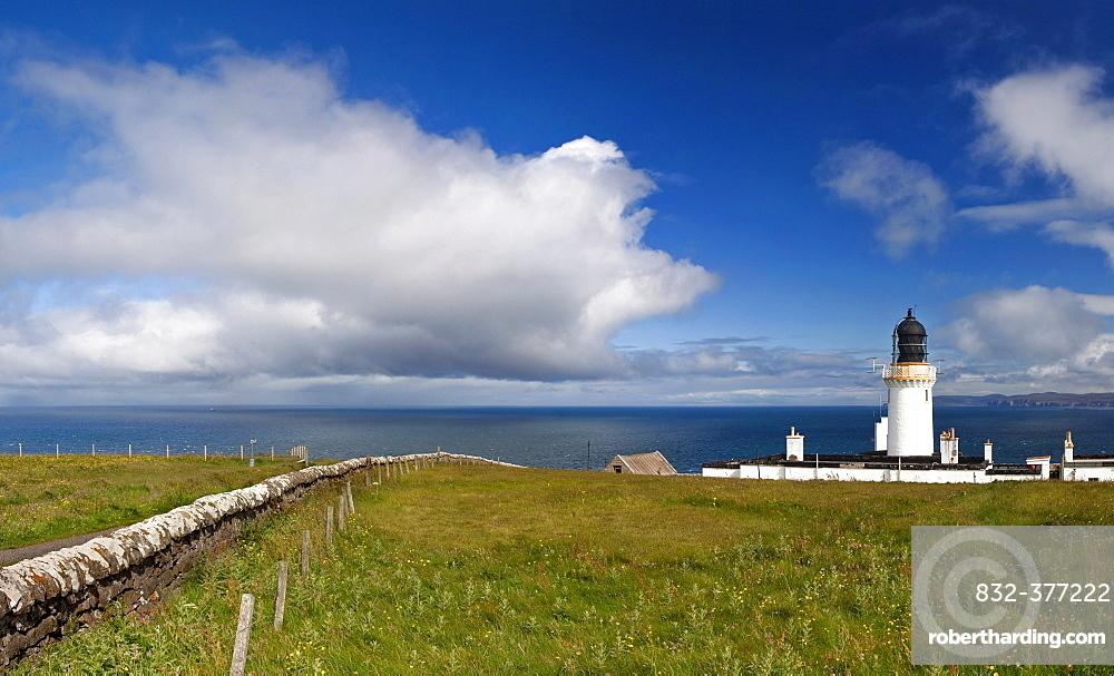 Lighthouse, Dunnet Head, Scotland, UK, Europe