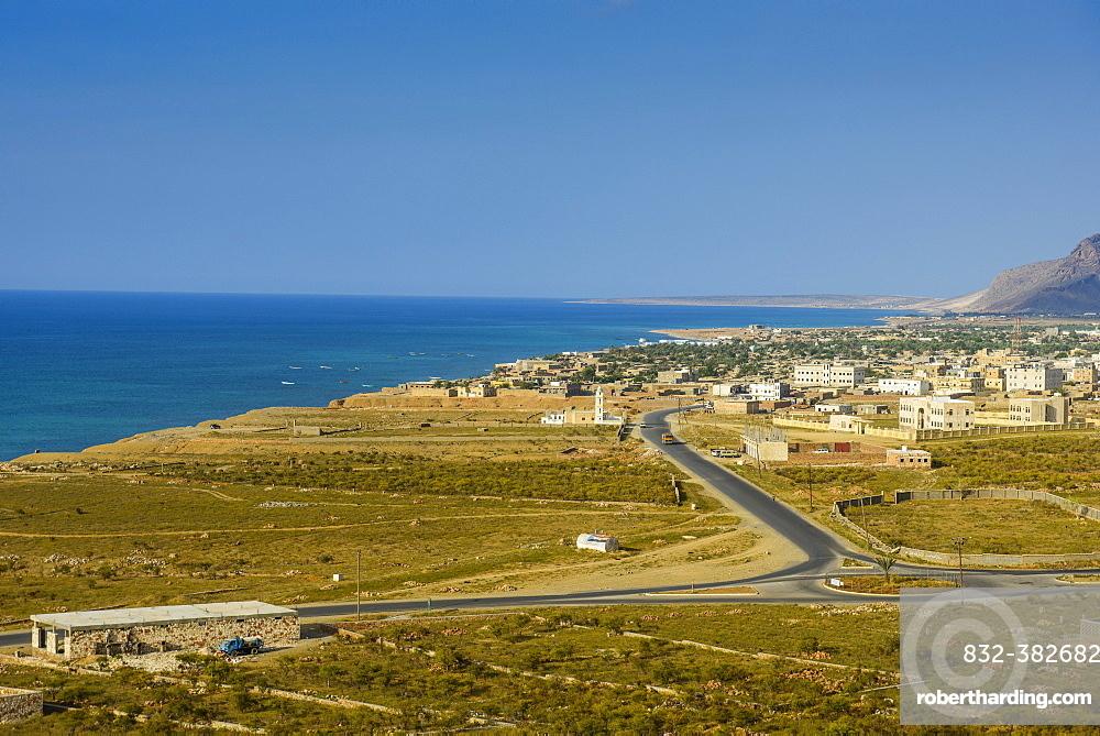 Coastline, Hadibu, island of Socotra, Yemen, Asia