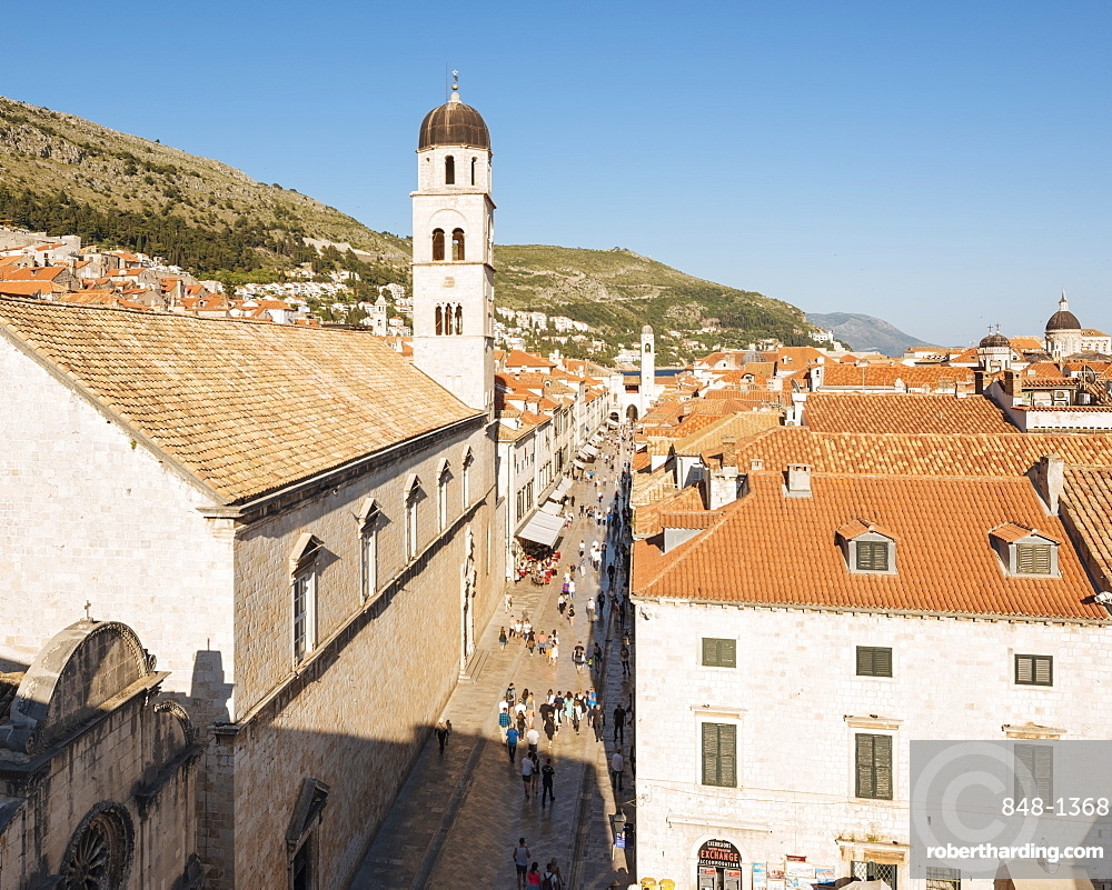 City Walls, UNESCO World Heritage Site, Dubrovnik, Croatia, Europe