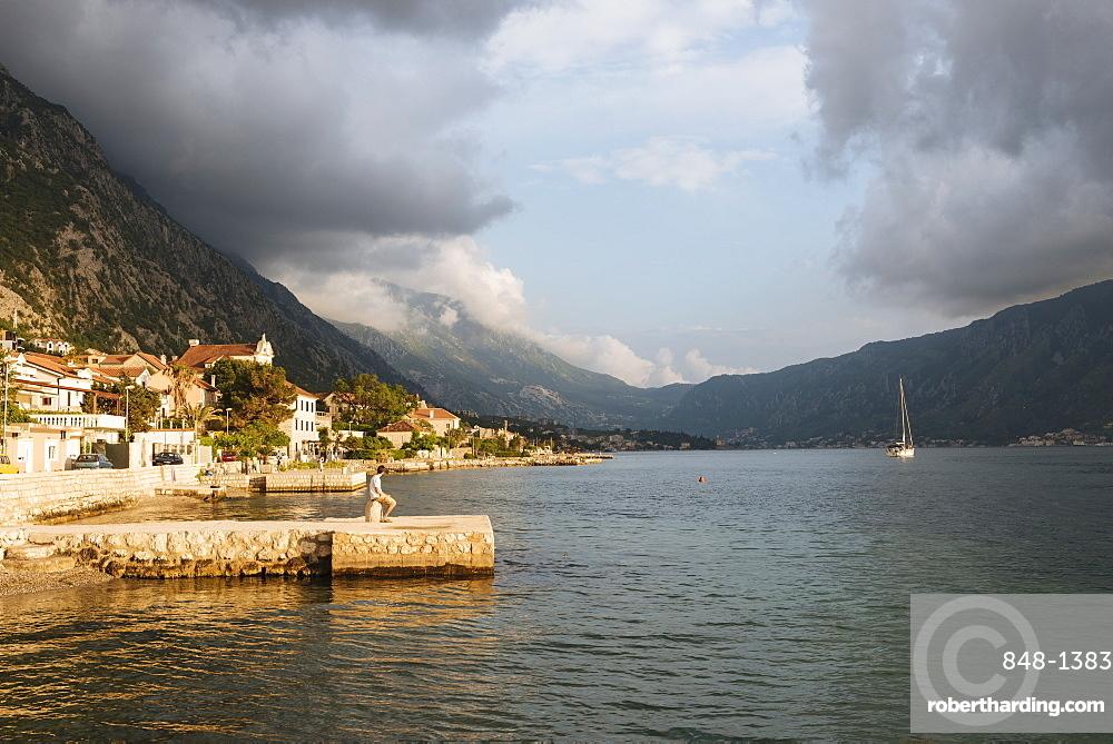 Dobrota, Bay of Kotor, UNESCO World Heritage Site, Montenegro, Europe