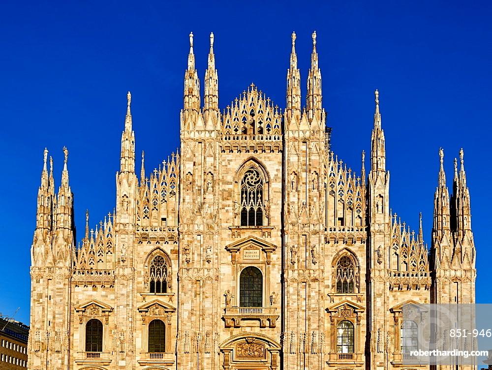 Duomo di Milano Cathedral in Milan.