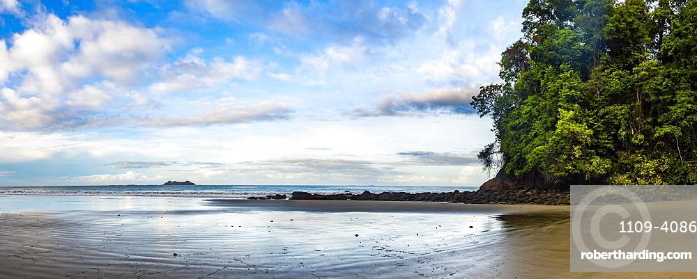 Playa Arco Beach, Uvita, Marino Ballena National Park, Puntarenas Province, Pacific Coast of Costa Rica
