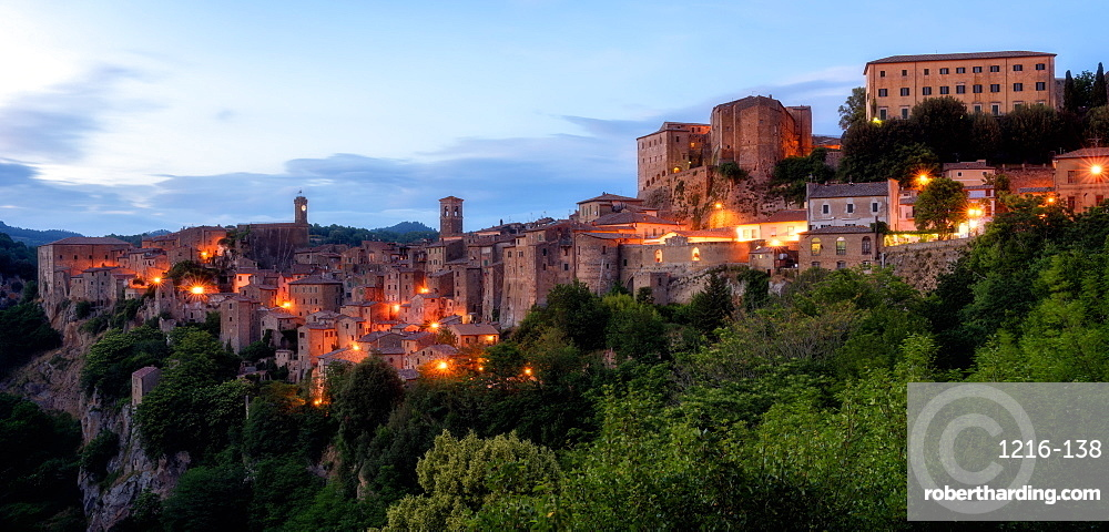 Sorano, Umbria, Italy, Europe