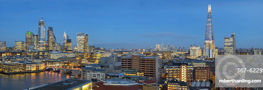 City of London and Shard panorama